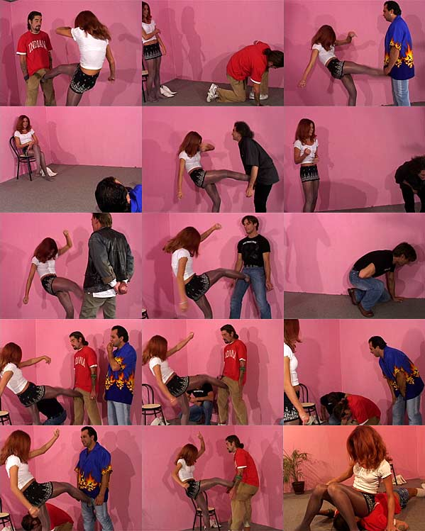 Ballbusting Tryout Part 1