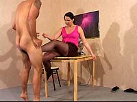 Working Girl Busts Balls 2